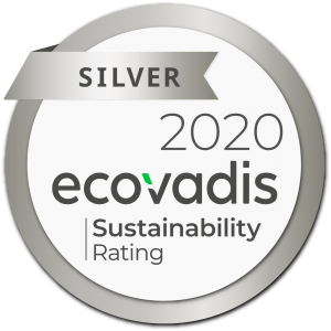 Ecovadis Silver Medal 2020